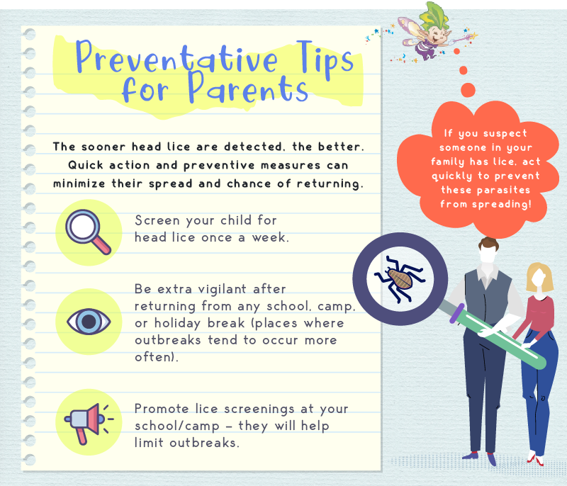 Lice Prevention Tips for Parents
